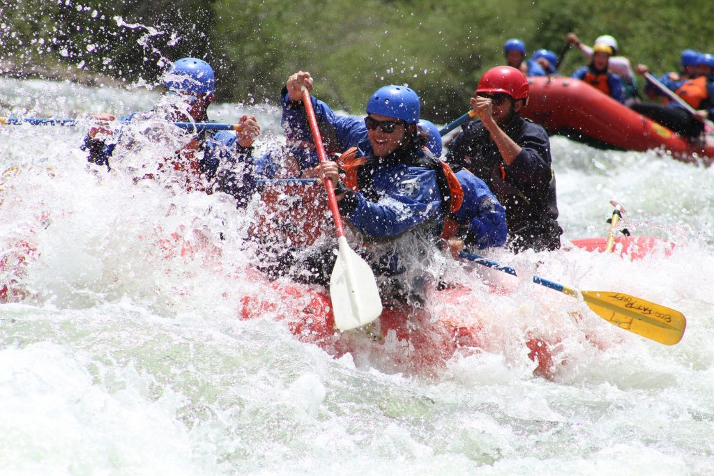 Whitewater rafting in BrECKENRIDGE
