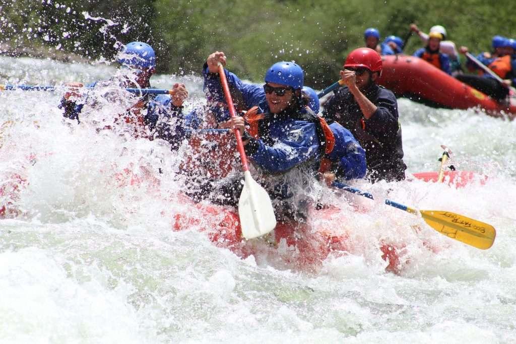 Whitewater rafting in BrECKENRIDGE