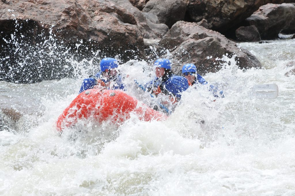 Full day royal gorge raft trip