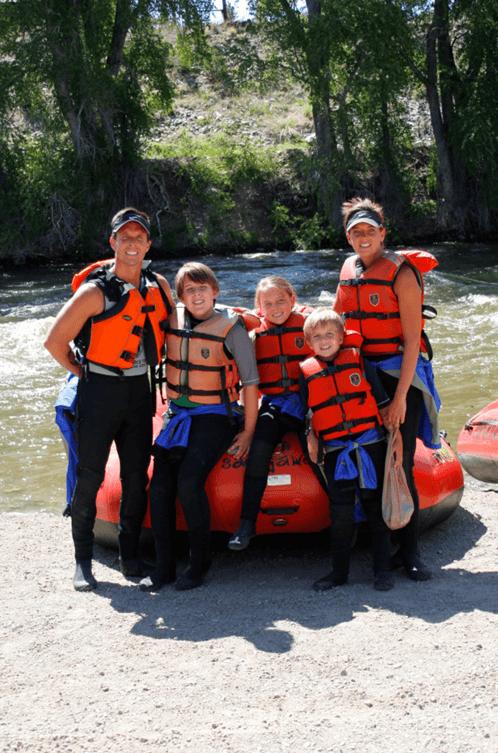 Colorado family raft trips