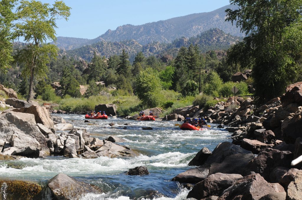 September Rafting in Browns Canyon