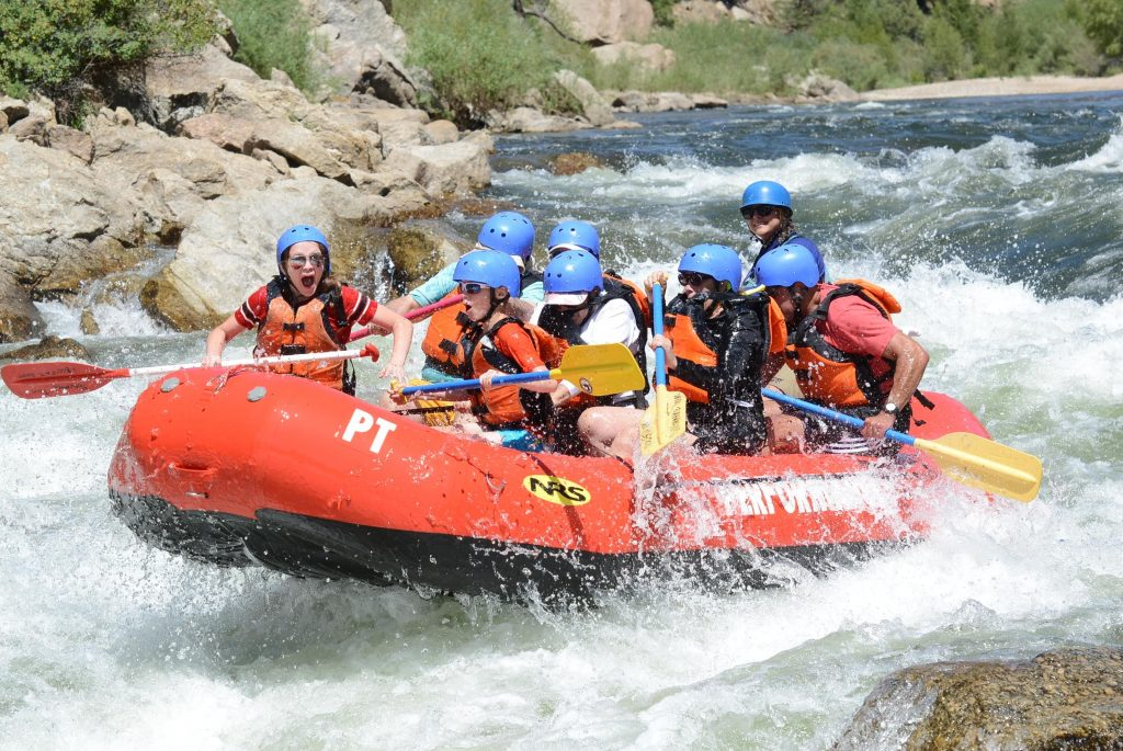 Whitewater Rafting in September - late summer rafting