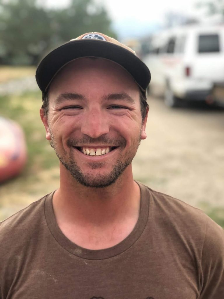 Jeremy Raft Guide at performance tours rafting