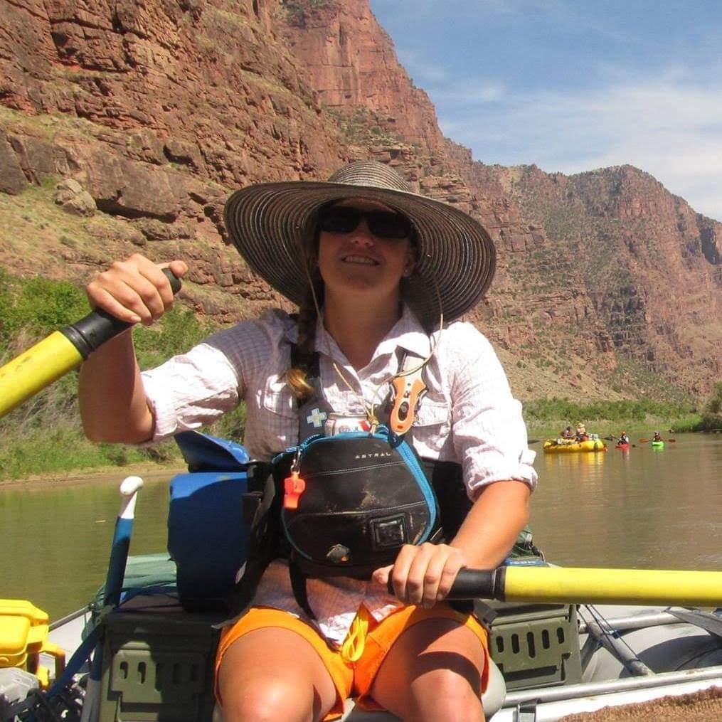 Marybeth raft guide at performance tours rafting