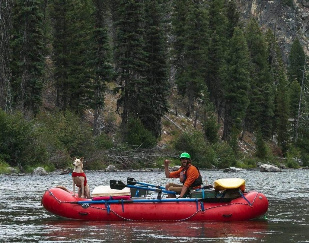 Shawn Performance Tours Raft Guide