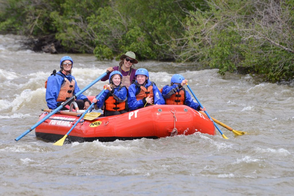 Ashley Performance Tours Raft Guide