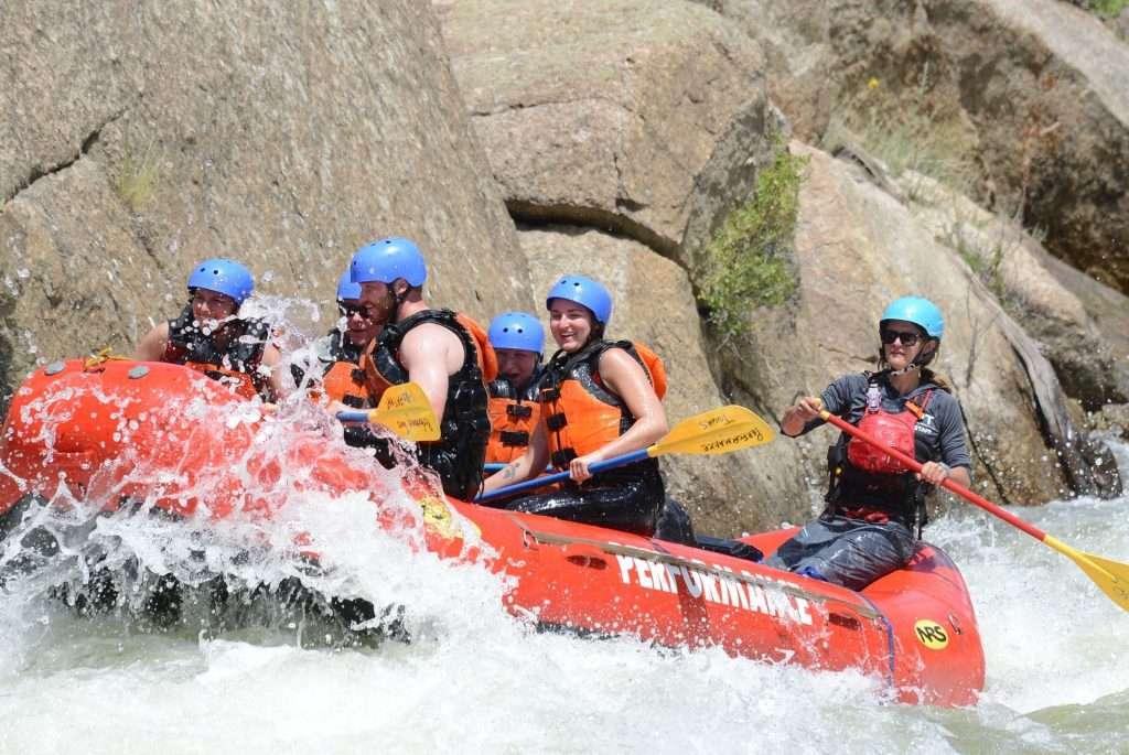 bekah raft guide at performance tours