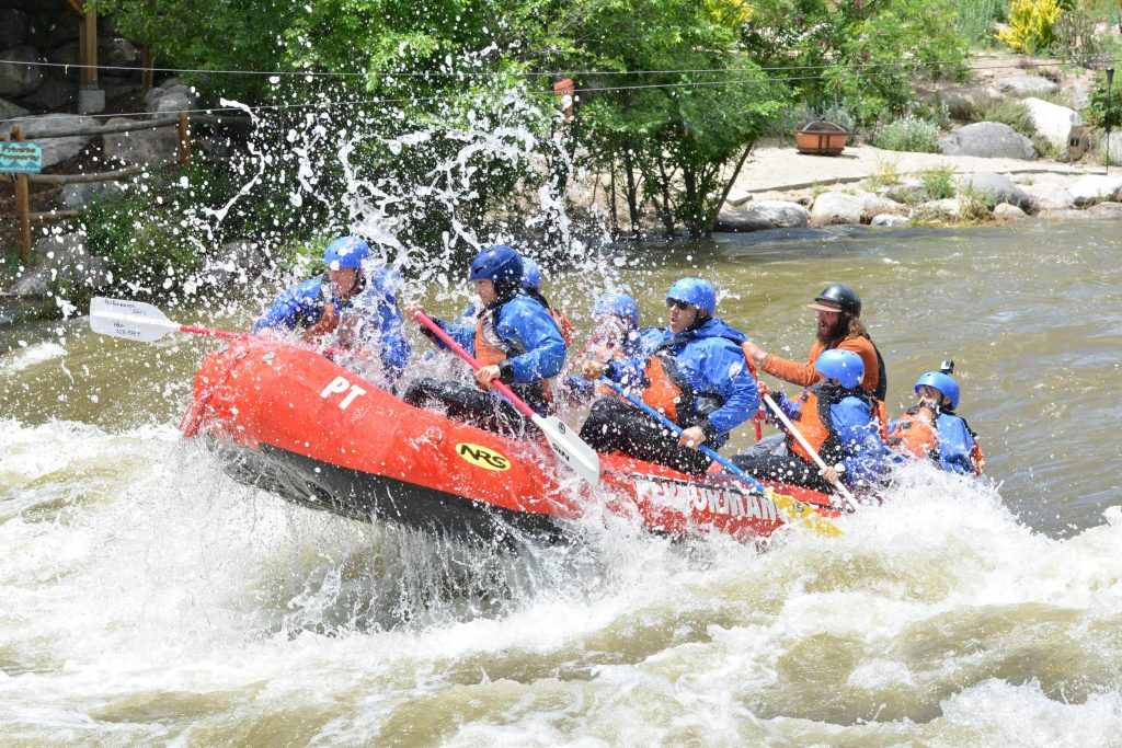Chris P Raft Guide at Performance Tours Rafting