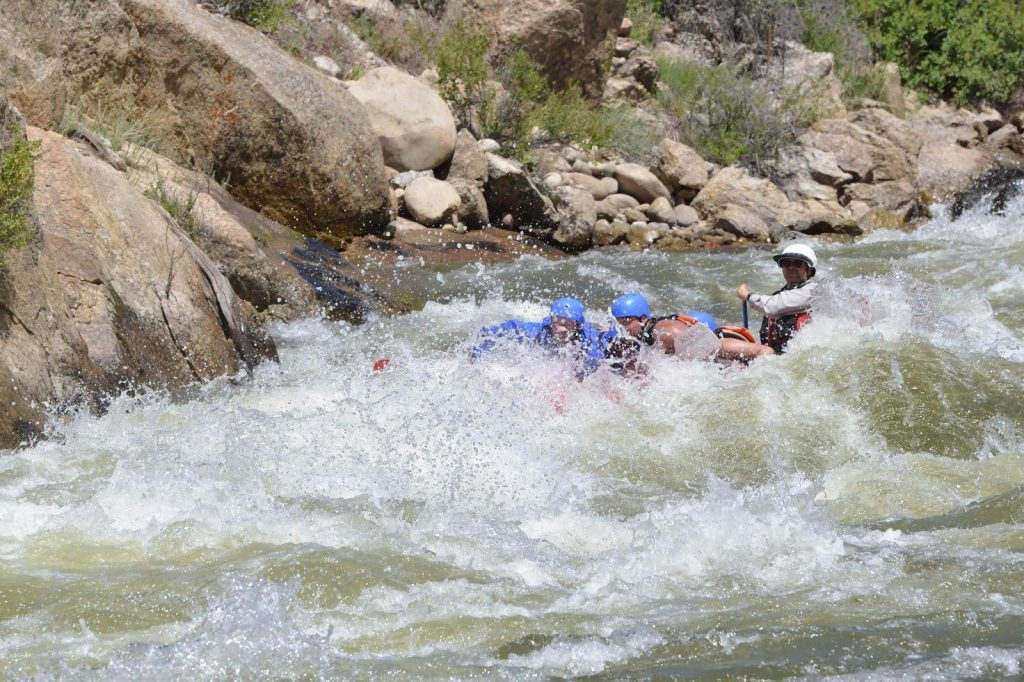 Rob Performance Tours Rafting Guide