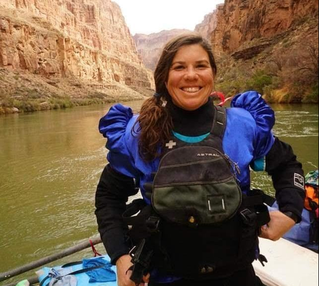 Sarah Performance Tours Rafting Guide