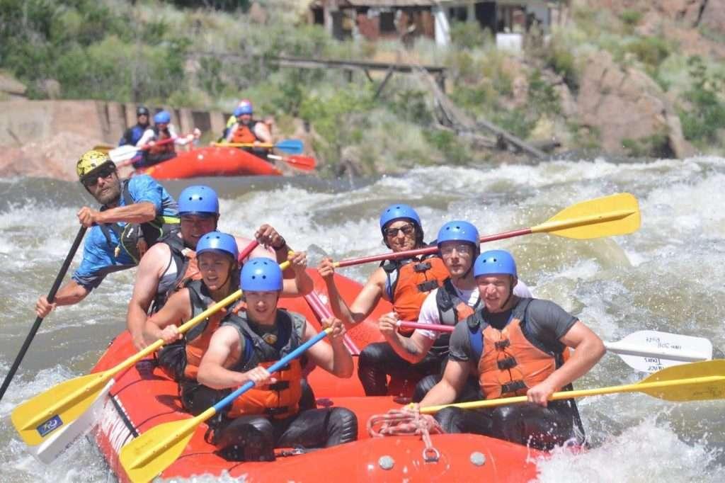Bundy PT Raft Guide Royal Gorge